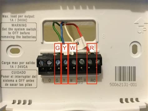 honeywell rth2300 thermostat installation