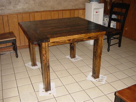 Ana White   Square Kitchen Table (Modified Tryde Coffee Table)   DIY Projects