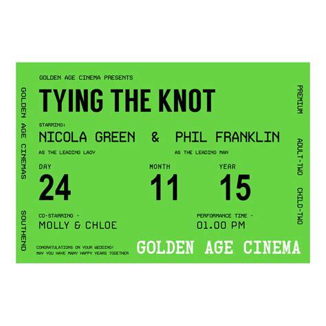 cineplex no passes personalised cinema ticket print by of life lemons