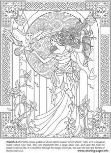 free printable celtic coloring pages for adults coloring