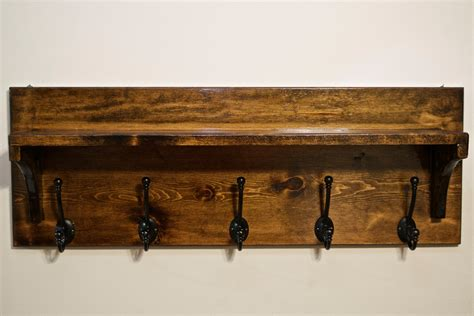 entryway coat rack rustic coat rack with shelf entryway