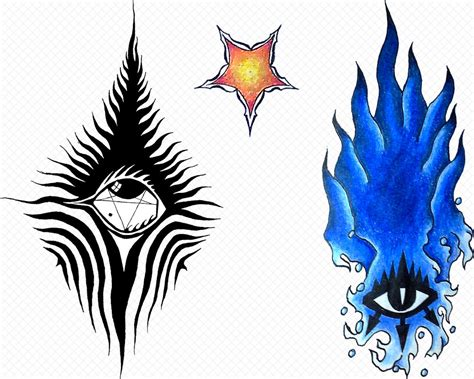 my personal tattoos by eel ecurb on deviantart