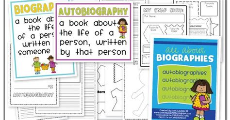 unit 7 biography and autobiography all about biographies this unit is perfect for 1st 2nd
