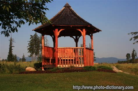 gazebo meaning gazebo photo picture definition at photo dictionary