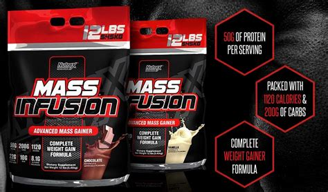 Nutrex Mass Infusion 12 Lb Whey Protein Gainer mass infusion from nutrex revealed and released