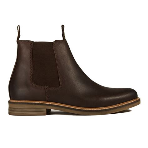 barbour s farsley leather chelsea boots in brown for
