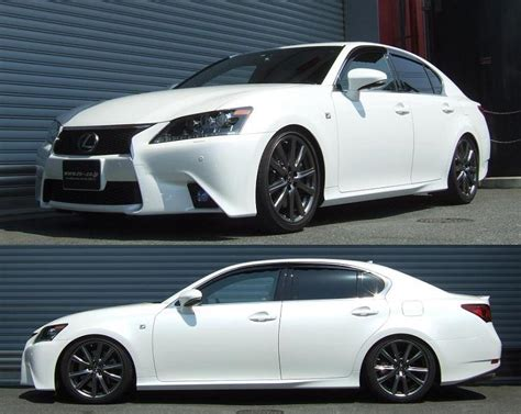 lexus gs350 f sport lowered 2013 lexus gs350 lowering springs and coilovers kyoei usa