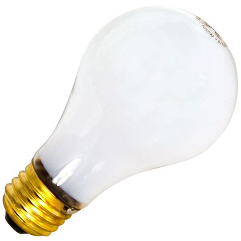 safety coated light bulbs standard 90w 130v a19 safety coated incandescent e26