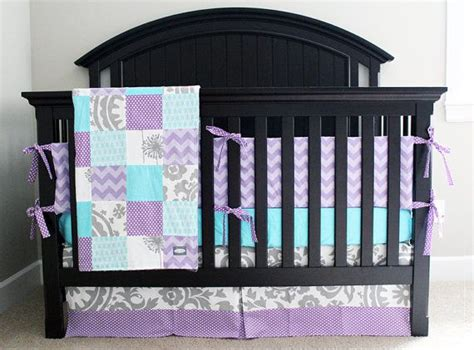 Purple And Gray Crib Bedding Reserved For Lorri Woodlands Baby Crib Mobile Nursery Decor Baby My Baby And
