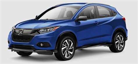 Honda Paint by 2019 Honda Hr V Paint Color Options
