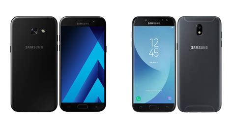 Samsung A3 Vs J3 Pro the great samsung 2017 mid range series comparison galaxy