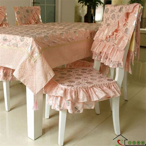 Dining Table Cloth Sets Luxury Simple European Tablecloth Dining Table Cloth Table Linen Cushion Chair Covers Set