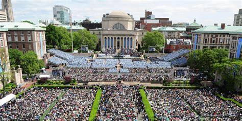 One Year Mba At Columbia by Commencement Day Columbia Commencement Week