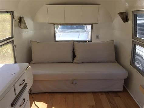 replace rv dinette with sofa 17 best images about airstream front bed dinette on pinterest