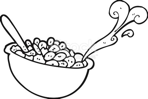 bowl of rice black white line art tatoo tattoo black and white cartoon bowl of cereal stock vector art