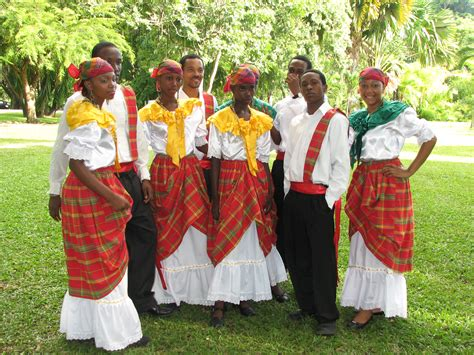 Dominica Dress cultural gala visit dominica all about the nature