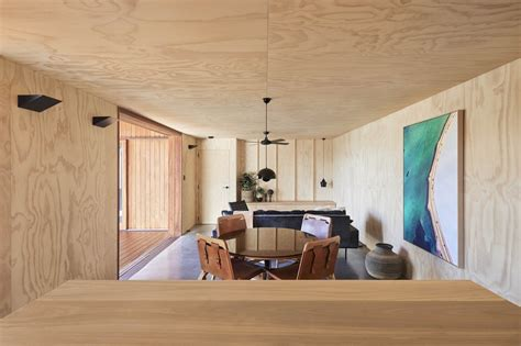 plywood interiors dwell