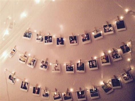 how to hang polaroid lights uooncus uocontest polaroids interior inspo style and inspiration