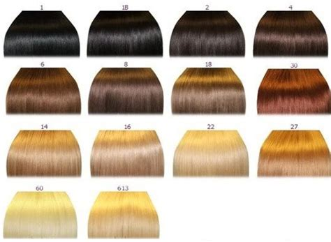 Hair Color Chart 2 Qlassyhairextensions | hair color chart 2 qlassy hair extensions