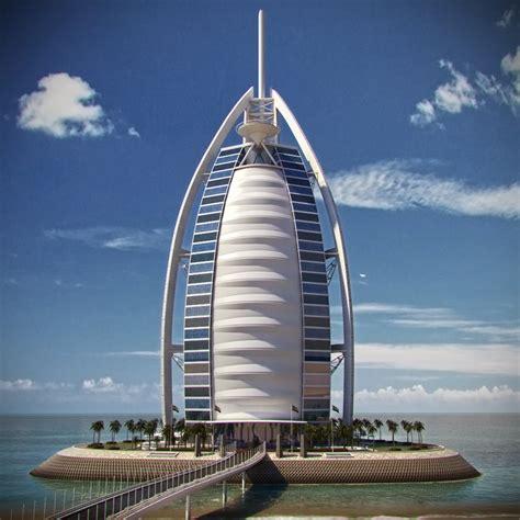 burj al arab hotel burj al arab hotel 3d model max obj fbx cgtrader com