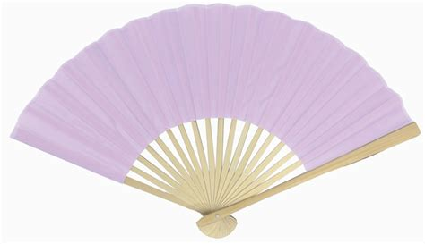 Folding Paper Fans Bulk - 9 quot lavender silk fans for weddings 10 pack on sale
