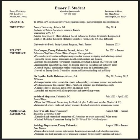 resume template summary of qualifications with relevant skills resumes design