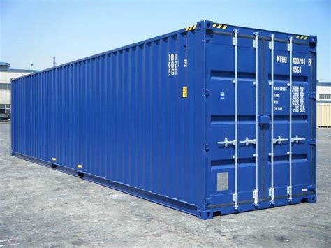 40 foot storage container for sale 40 hc ral 5013 shipping containers