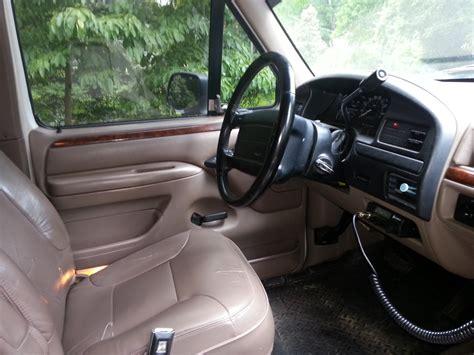 1996 ford bronco interior pictures cargurus