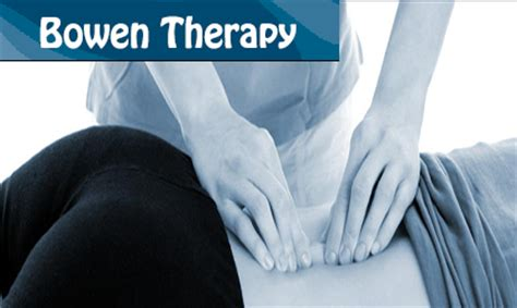 Bowen Therapy Images