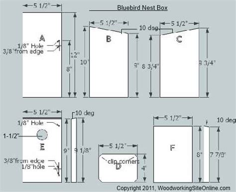 High Quality Bluebird House Plan 14 Bluebird Bird House Bluebird House Plans