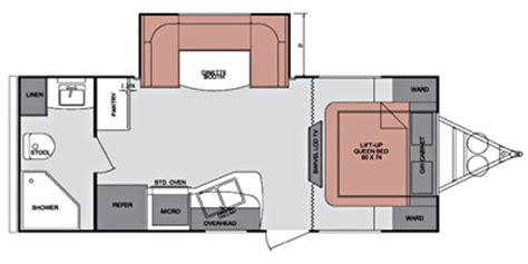 fun finder rv floor plans 2014 cruiser rv fun finder series m 214 wsd specs and
