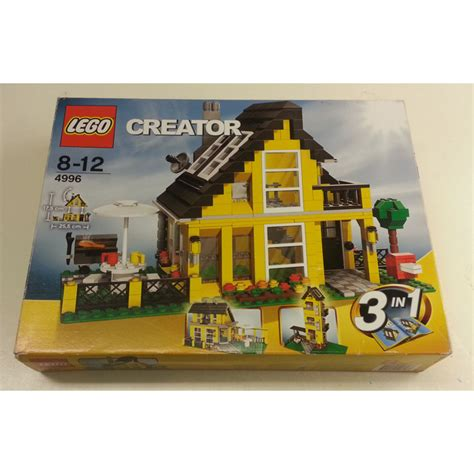 Lego Beach House Set 4996 Packaging Brick Owl Lego Lego House 4996