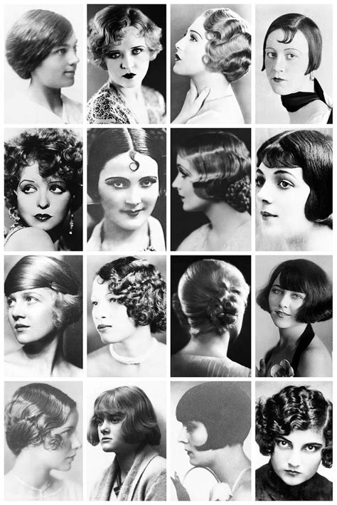 hairstyles in the 1920s 1920 s hair styles pinterest