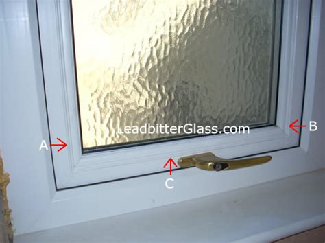 beading window frame measuring glass