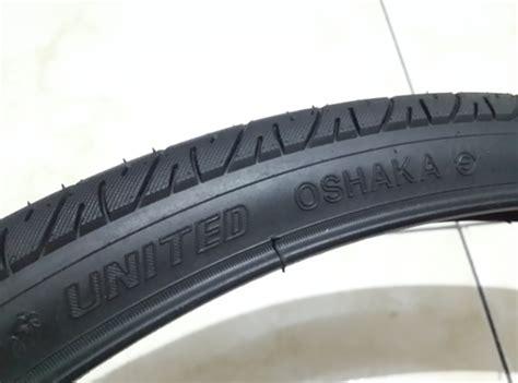 Ban Dalam Sepeda 20x1 75 jual ban luar sepeda mtb united oshaka ukuran 26 x 1 75 47 559 hitam istana sepeda