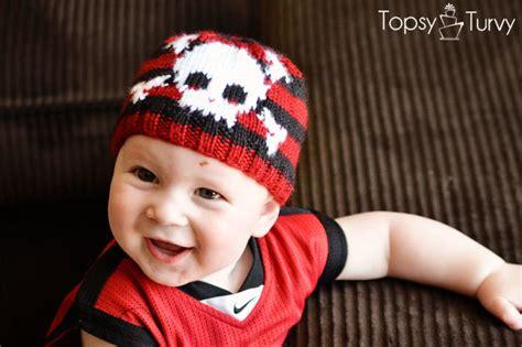 knitted skull hat pattern skull bones baby beanie allfreeknitting