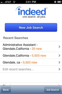 indeed mobile search how to use the indeed mobile app tutorial search