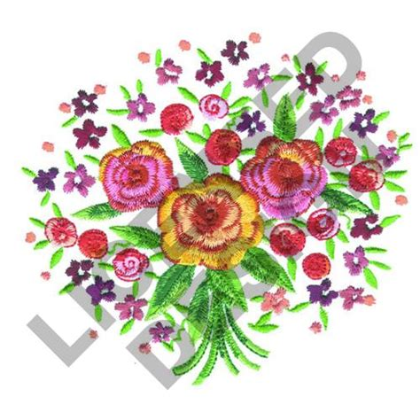 design your flower bouquet flower bouquet embroidery designs machine embroidery