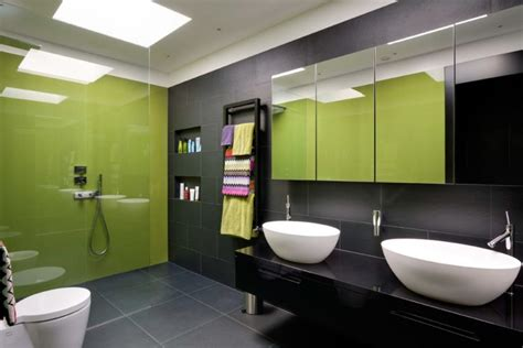 green and black bathroom 20 green bathroom designs ideas design trends