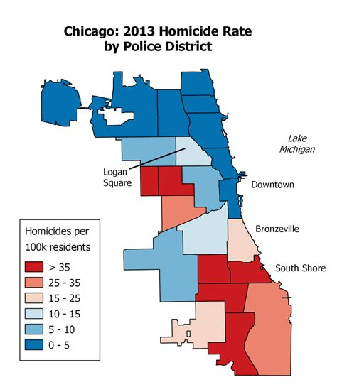 chicago homicide map crime in chicago