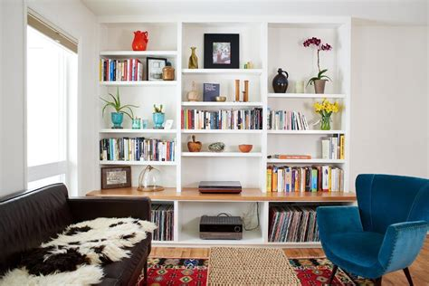 Tidy Bookcase These 20 Built In Shelves Will Revitalize Alot Of Space