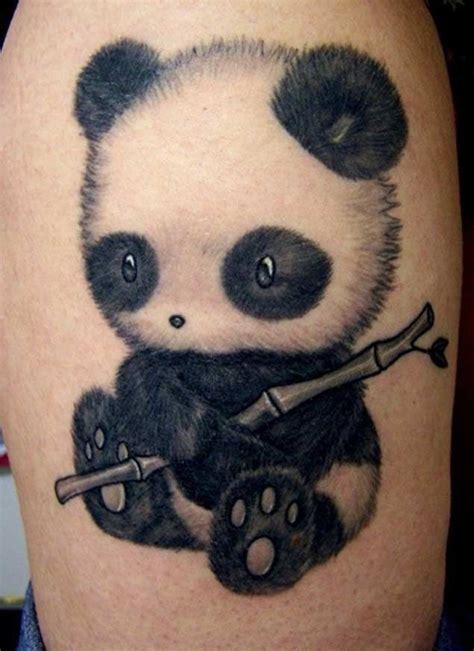 panda tattoo wwf 25 perfectly cute panda tattoos beb 234 tatuagem e