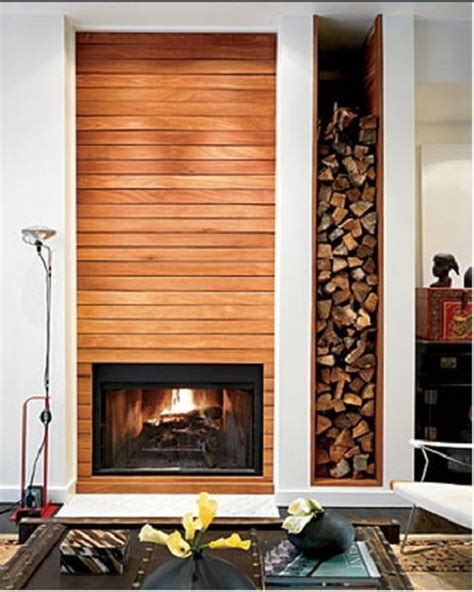 Fireplace With Built In Wood Storage by 66 Best Images About Inspire Fireplaces On