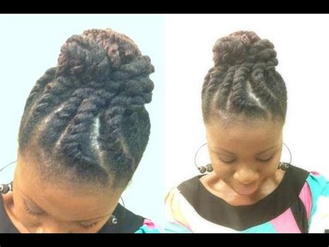 how to flat twist and add marley hair natural hair jumbo two strand flat twist with marley hair