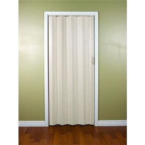 accordion doors interior home depot spectrum sienna 24 to 36 inch cottage white accordion