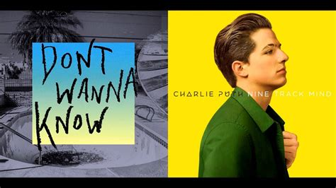 charlie puth maroon 5 maroon 5 vs charlie puth don t wanna know anymore