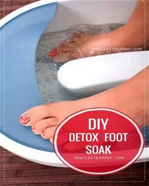 Detox Foot Bath At Home Recipe by Foot Detox Soak D