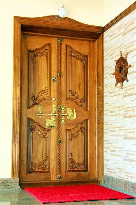 kerala style home front door design kerala house front double door designs american hwy