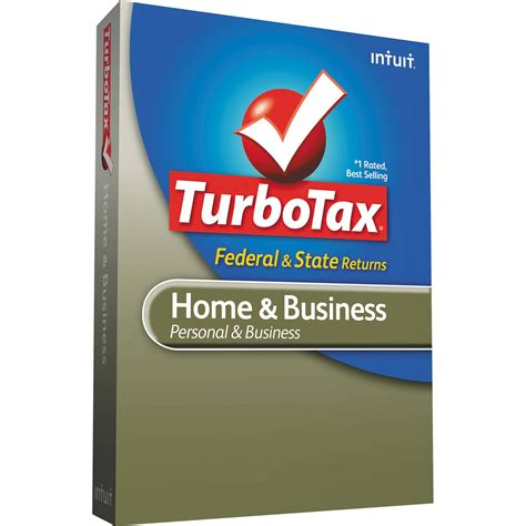 intuit turbotax home and business federal e file