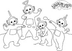 teletubbies coloring pages coloring page teletubbies coloring pages 16